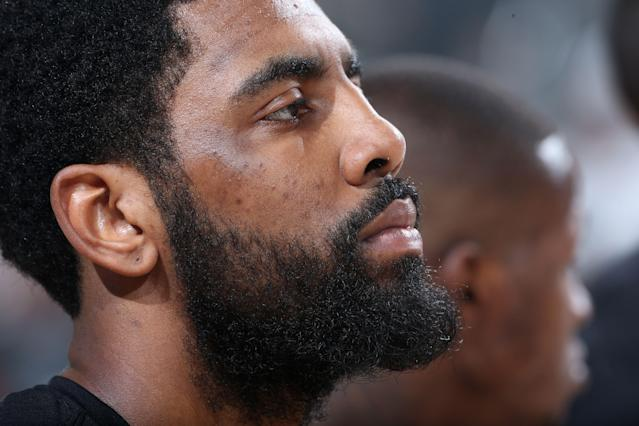 Boston Celtics point guard Kyrie Irving is a wizard with the basketball. (Getty Images).