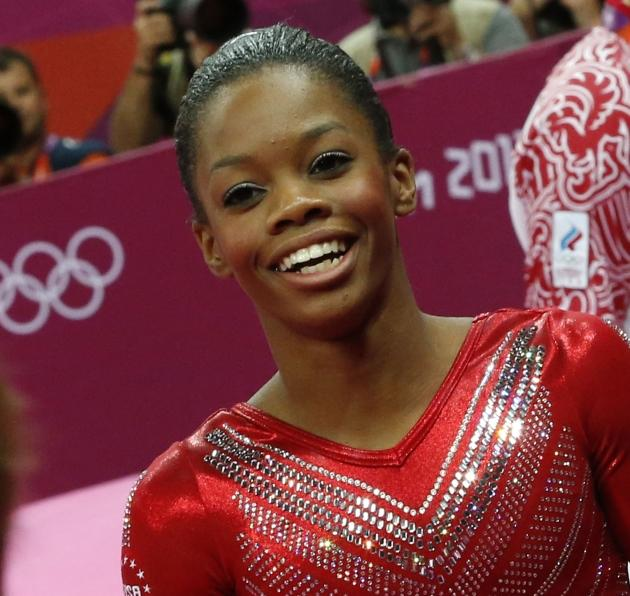 Team USA women's gymnast Gabrielle Douglas -- Getty Images