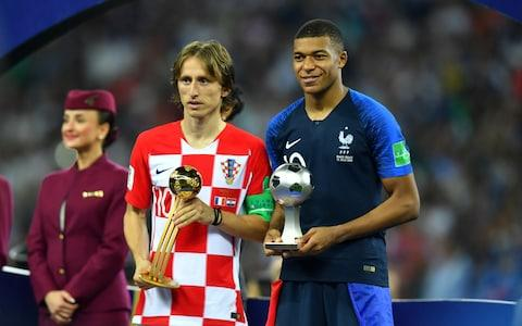 Luka Modric and Kylian Mbappe  - Credit: Reuters
