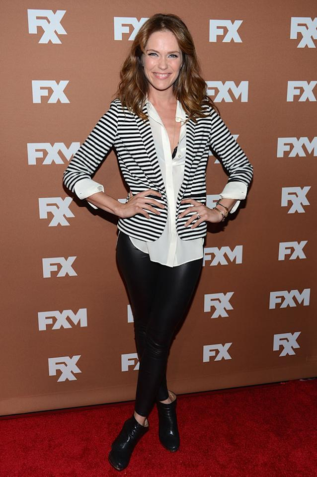 Katie Aselton attends the 2013 FX Upfront Bowling Event at Luxe at Lucky Strike Lanes on March 28, 2013 in New York City.