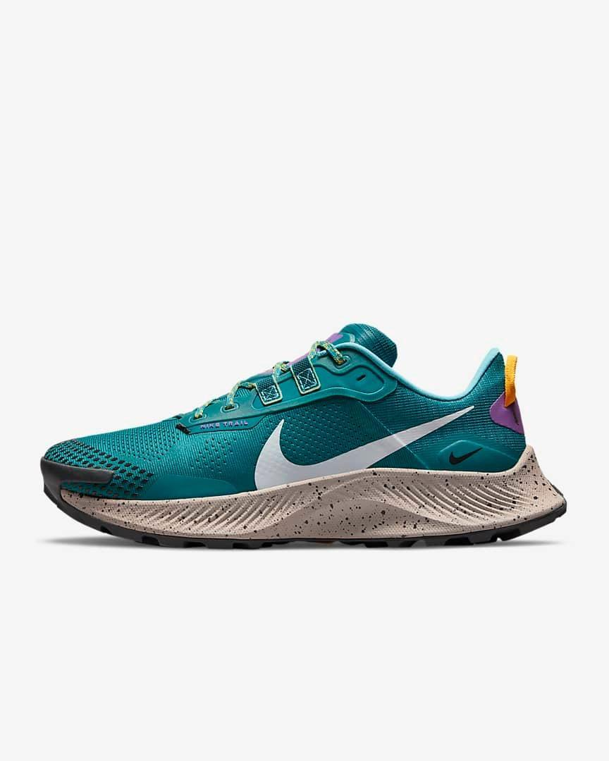 """<h2>Nike Pegasus Trail 3</h2><br>Pick up a pair of Nike's new Pegasus Trail runners, enter your zip code, and find out exactly when dad will receive his new kicks. Right now, you can pay up to $25 for super speedy express shipping. <br><br><em>Shop</em> <strong><em><a href=""""http://nike.com"""" rel=""""nofollow noopener"""" target=""""_blank"""" data-ylk=""""slk:Nike"""" class=""""link rapid-noclick-resp"""">Nike</a></em></strong><br><br><strong>Nike</strong> Pegasus Trail 3, $, available at <a href=""""https://go.skimresources.com/?id=30283X879131&url=https%3A%2F%2Fwww.nike.com%2Ft%2Fpegasus-trail-3-mens-trail-running-shoe-QPcRqp%2FDA8697-300"""" rel=""""nofollow noopener"""" target=""""_blank"""" data-ylk=""""slk:Nike"""" class=""""link rapid-noclick-resp"""">Nike</a>"""