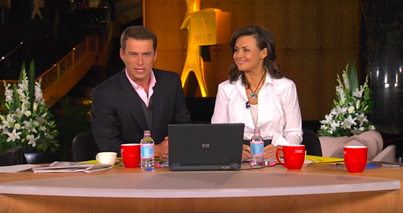 Karl Stefanovic rocked up to the Today set with then co-host Lisa Wilkinson in 2009 admittedly 'drunk' after the Logies.
