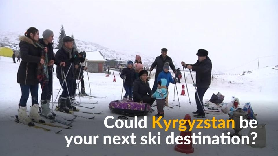 In a bid to attract more foreign tourists, Kyrgyz authorities are actively promoting winter sports.