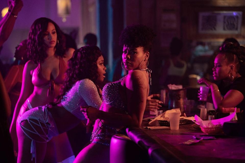 <p>When it comes to sexual empowerment, the first season of Starz's <em>P-Valley</em> provided audiences with a peek into the world of Southern strip clubs through the female gaze. Created by Katori Hall, the series bucked stereotypes, celebrating Black, female physical power. Each episode was directed by a woman and shot in a way that captures the sheer strength and sexuality of the dancers down at The Pynk, the series' central strip club, without objectifying them. Through powerful storylines, the personal and professional lives of these working women prove that there is more to these establishments than meets the eye, setting a new precedent for how women's stories can be portrayed.</p>