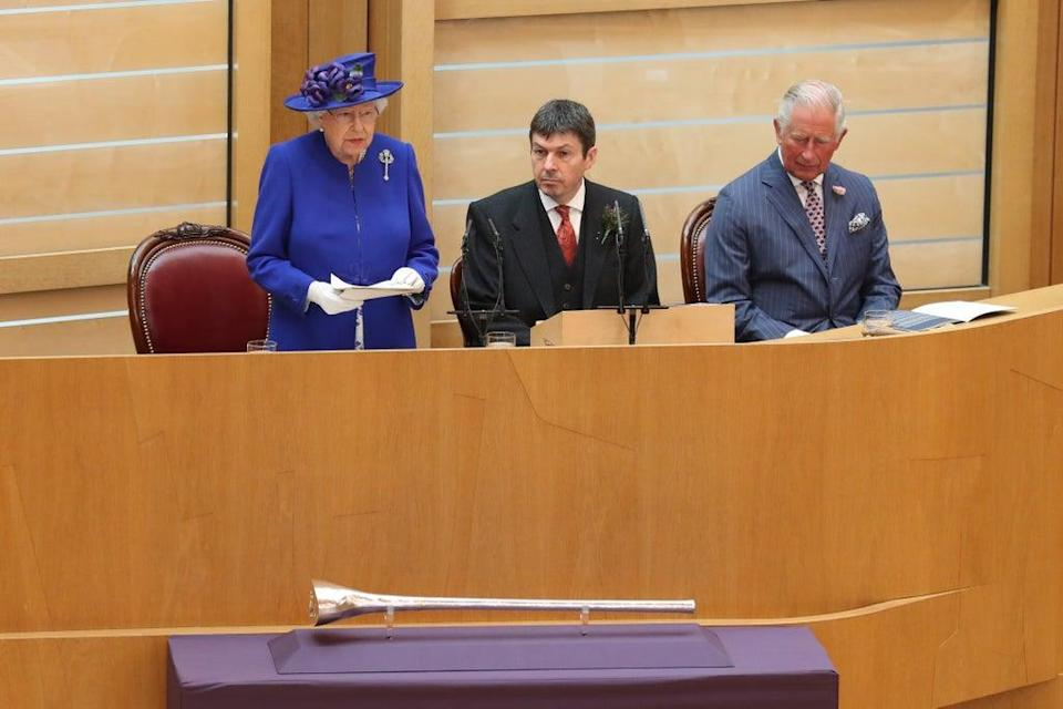 The Queen and Price Charles will attend the formal opening of the new session of the Scottish Parliament in Holyrood (Andrew Milligan/PA) (PA Archive)