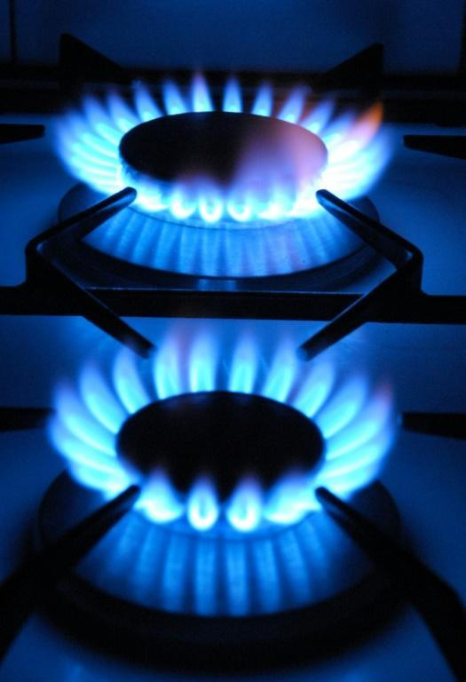 UK consumers are facing a hike in household energy bills due to the surging price of wholesale gas (AFP/Eric PIERMONT)