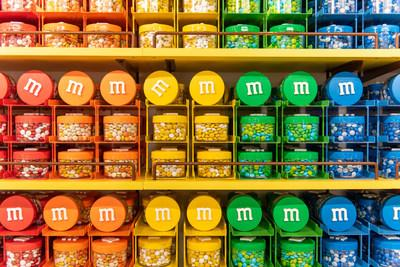Example merchandise in the new M&M'S experiential stores coming to Disney Springs®, Mall of America® and Berlin.