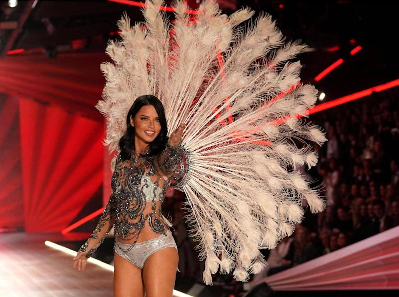 Last night's show was Adriana Lima's last appearance as a Victoria's Secret 'Angel' (Getty Images)