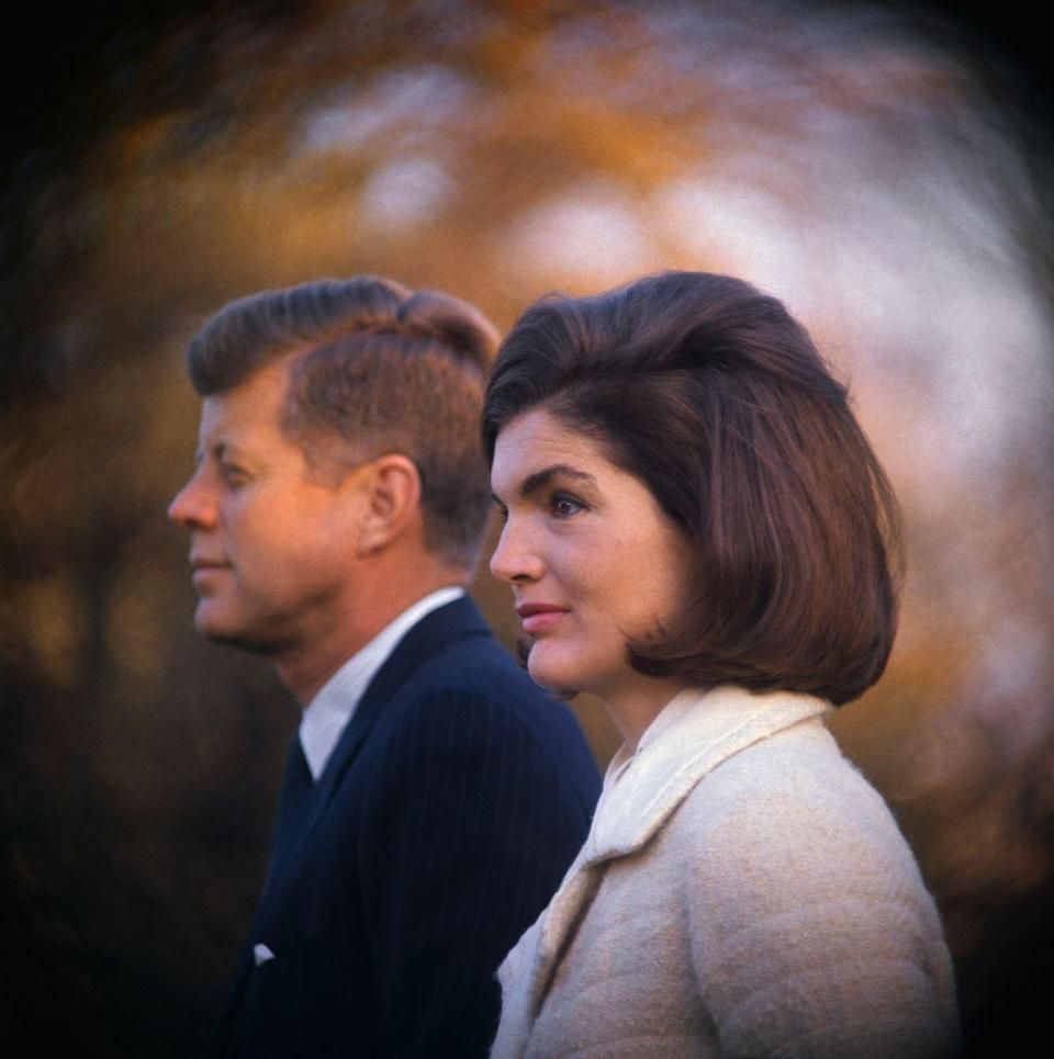 """<p>Their marriage <a href=""""http://www.express.co.uk/news/world/475532/Jackie-Kennedy-s-new-biography-delves-deep-into-family-secrets-and-her-life-with-JFK"""" rel=""""nofollow noopener"""" target=""""_blank"""" data-ylk=""""slk:troubles"""" class=""""link rapid-noclick-resp"""">troubles</a> didn't begin in the White House. Jackie had doubts about their relationship even before he became POTUS.</p>"""