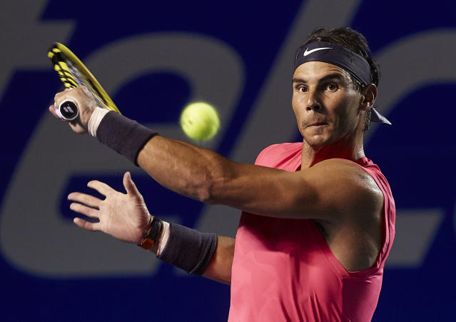 Rafael Nadal. (Photo by Quality Sport Images/Getty Images)