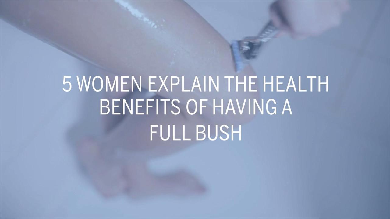 More and more women are putting their razors away these days. Watch the video to see why some women prefer to let it grow.