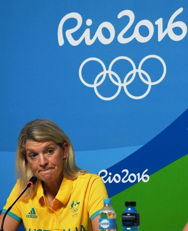 Team chief Kitty Chiller says Australian athletes have been told to take extra precautions outside secure Olympic areas (AFP Photo/Roberto Schmidt)