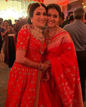 Kajol at Soundarya Rajinikanth wedding