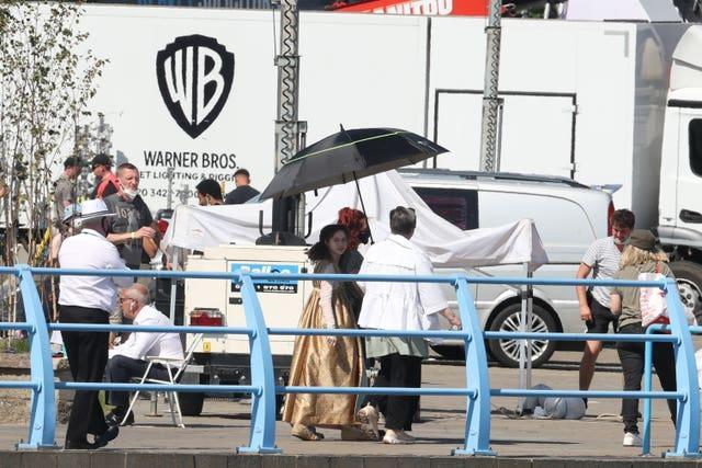 Dungeons and Dragons filming – Netflix