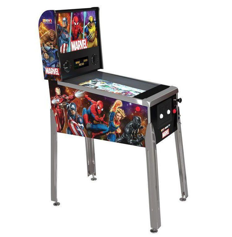 """<p><strong>Arcade1UP</strong></p><p>gamestop.com</p><p><strong>$549.99</strong></p><p><a href=""""https://go.redirectingat.com?id=74968X1596630&url=https%3A%2F%2Fwww.gamestop.com%2Fvideo-games%2Fproducts%2Fmarvel-pinball%2F226917&sref=https%3A%2F%2Fwww.esquire.com%2Flifestyle%2Fg23497791%2Fbest-marvel-gifts-ideas%2F"""" rel=""""nofollow noopener"""" target=""""_blank"""" data-ylk=""""slk:Buy"""" class=""""link rapid-noclick-resp"""">Buy</a></p><p>Show off your own superpower: blowing four straight hours trying to beat a pinball high score.</p>"""