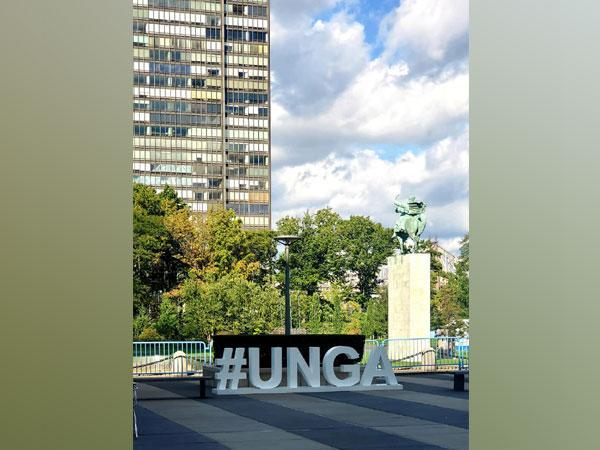 United Nations General Assembly in New York, United States. Photo Courtesy: Twitter/PratikMathur1