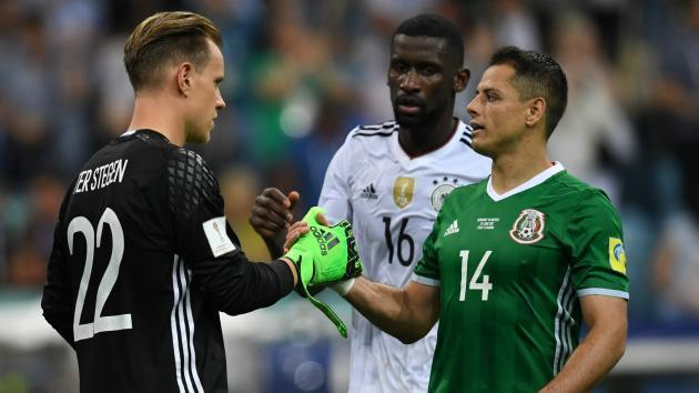 <p>Germany has a message for Mexico following World Cup draw</p>