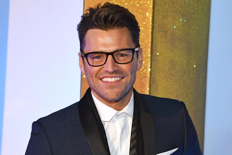 Career change: Mark Wright is set to move to Hollywood: Dave Benett