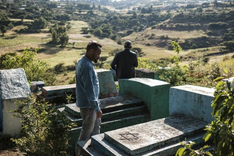 There is little space left for burials in Gondar's Jewish cemetery