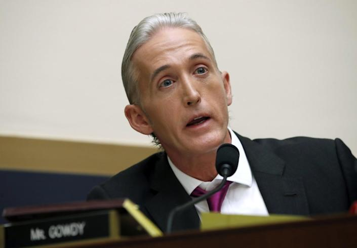 Trey Gowdy, now a Fox News contributor, during a House Judiciary Committee hearing on Capitol Hill in 2017.