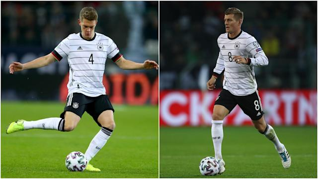 Toni Kroos and Matthias Ginter scored against Belarus on Saturday and Germany coach Joachim Low was overjoyed with the pair.