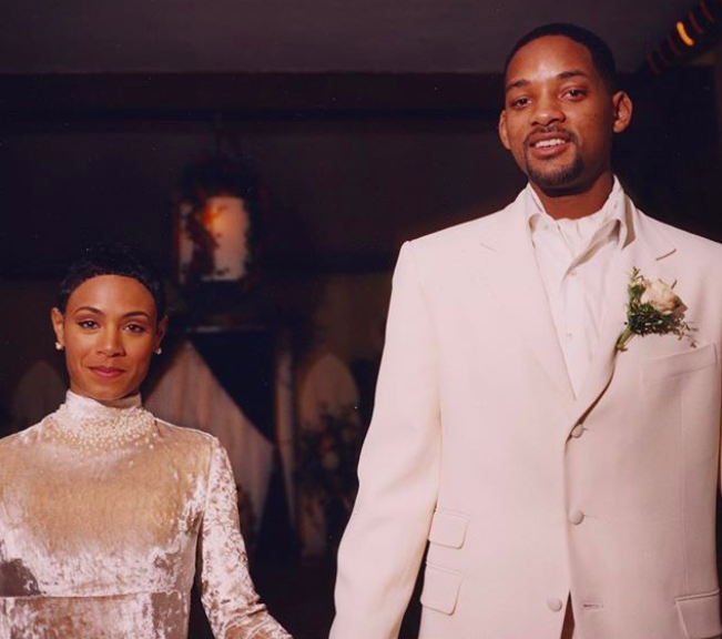 """<p>Can you believe it's been 20 years since Will Smith and Jada Pinkett Smith tied the knot? The two famously married on New Year's Eve in 1997. To celebrate two decades together, Will took to Instagram to share insights on what it takes to be married for so long — and offer appreciation for his wife. He finished the post with a declaration: """"Happy Anniversary, My Queen! I am forever Devoted to Nurturing your Deepest Truth."""" Wow! (Photo: <a rel=""""nofollow noopener"""" href=""""https://www.instagram.com/p/BdYUG_7nifa/?hl=en&taken-by=willsmith"""" target=""""_blank"""" data-ylk=""""slk:Will Smith via Instagram"""" class=""""link rapid-noclick-resp"""">Will Smith via Instagram</a>)<br><br></p>"""