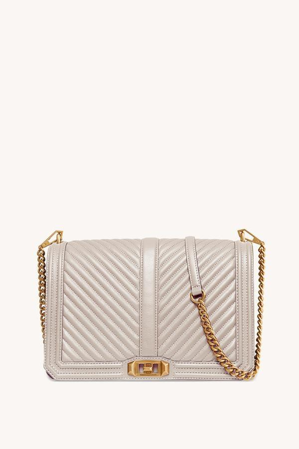 <p>Our editors adore this <span>Rebecca Minkoff Chevron Quilted Jumbo Love Crossbody</span> ($358) - not only is it stylish, it's also incredibly functional.</p>