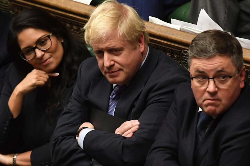 Boris Johnson told MPs he would now