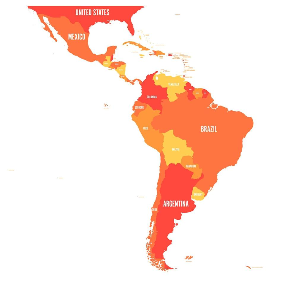 Most South American countries have yet to reopen their borders to Americans.