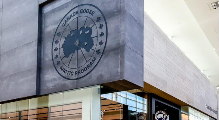 Stocks to Buy Down 10%: Canada Goose (GOOS)