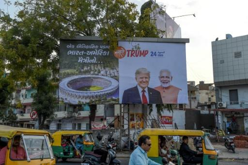 India is gearing up for a visit by US President Donald Trump starting Monday