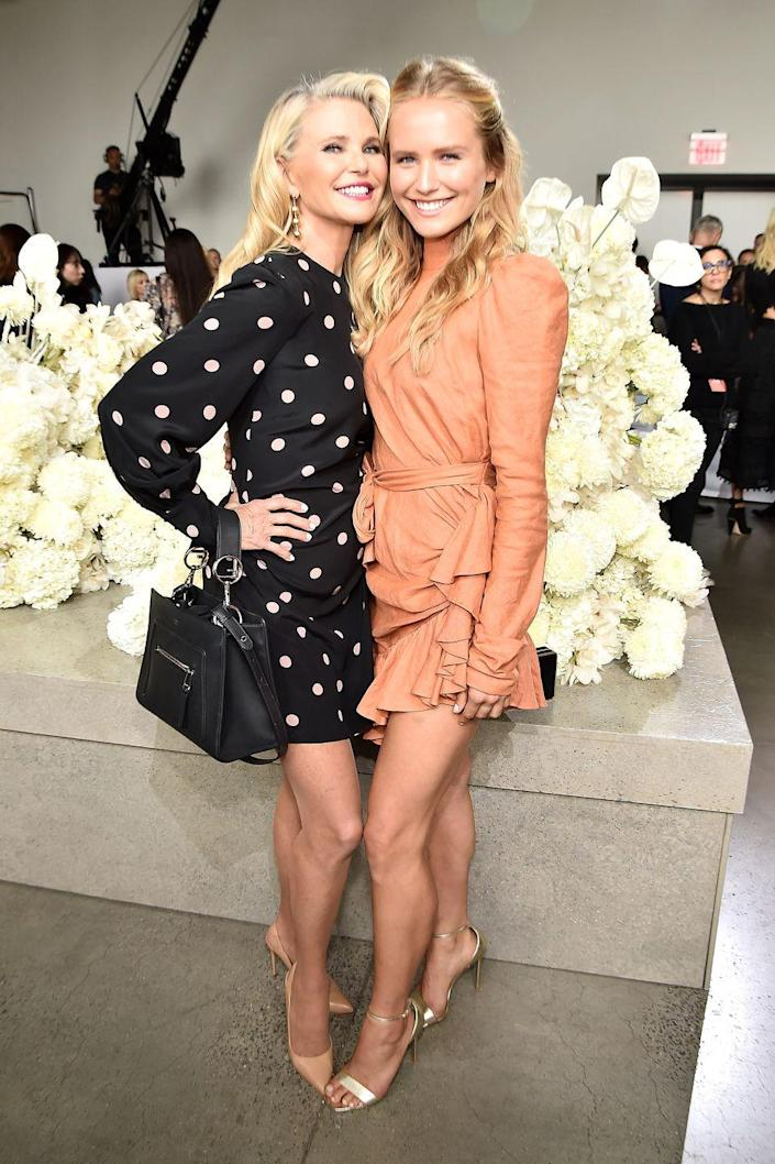 <p>The 21-year-old began studying photography at Parsons School of Design in 2016. She's also a Sports Illustrated swimsuit model like her supermodel mom.</p>