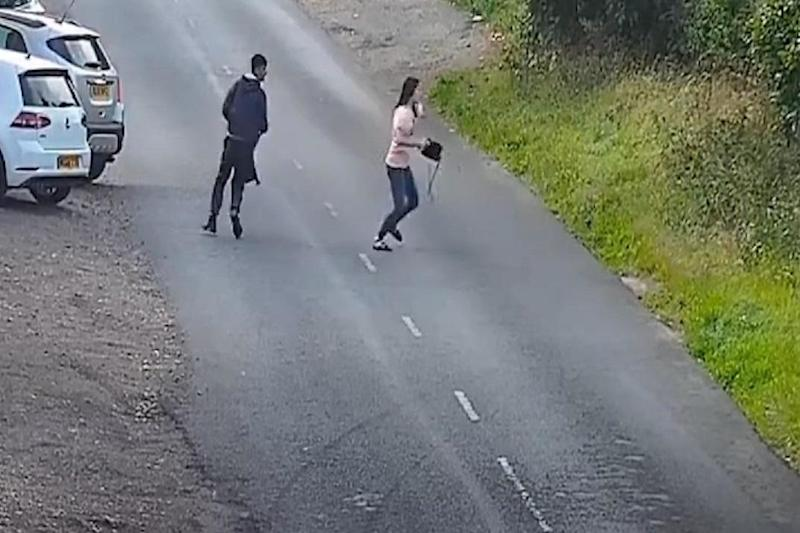 Police are urgently appealing for any information about the suspects (PA)