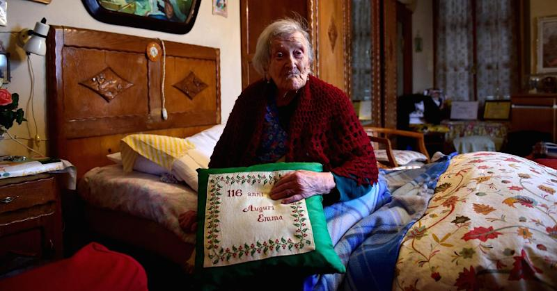 117-year-old woman: Being single keeps me young