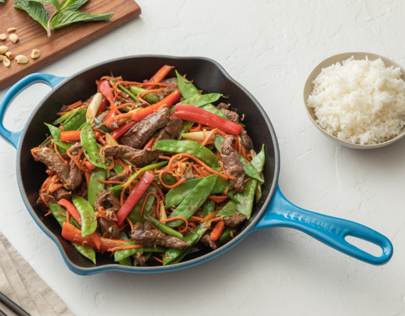 This skillet is designed for high-heat cooking. (Photo: Le Creuset)