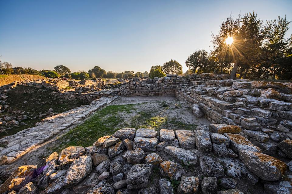 The ruins of Troy - getty