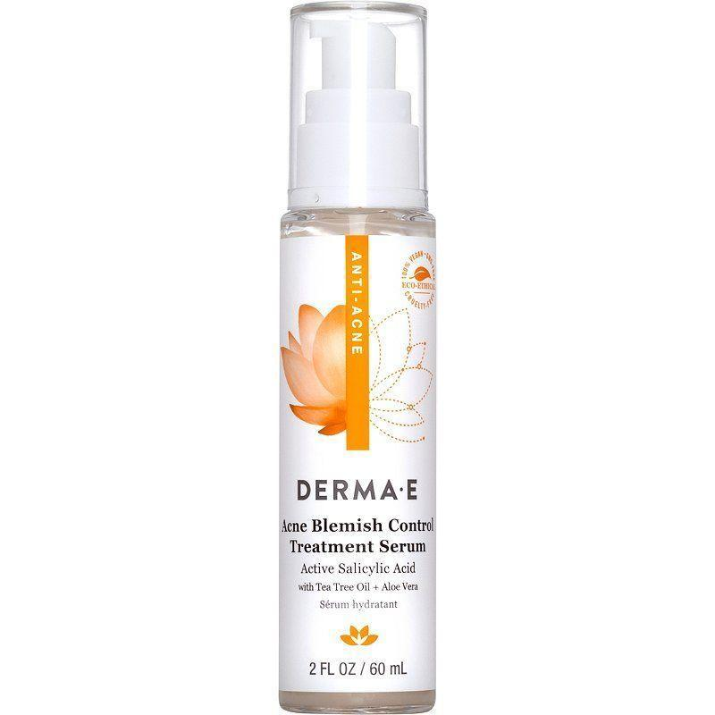 """<p><strong>DERMA-E</strong></p><p>amazon.com</p><p><strong>$14.80</strong></p><p><a href=""""https://www.amazon.com/dp/B07QFFS6HX?tag=syn-yahoo-20&ascsubtag=%5Bartid%7C10051.g.37014835%5Bsrc%7Cyahoo-us"""" rel=""""nofollow noopener"""" target=""""_blank"""" data-ylk=""""slk:Shop Now"""" class=""""link rapid-noclick-resp"""">Shop Now</a></p><p>For the naturalist among us, this serum combines salicylic acid with tea tree oil and aloe vera to treat blemishes while soothing inflamed skin.</p>"""