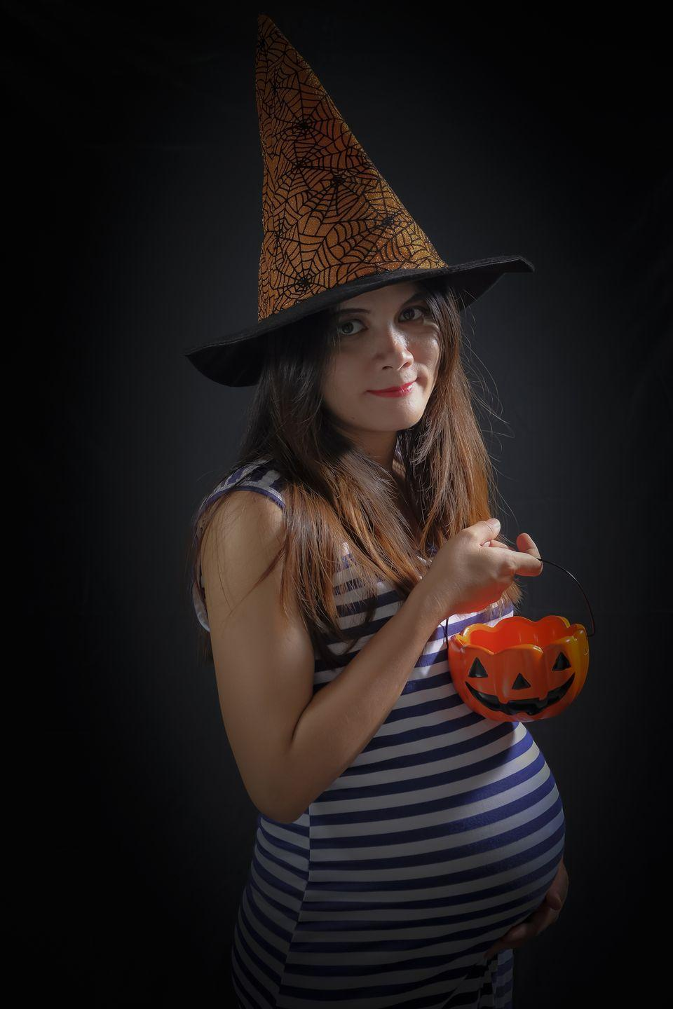 """<p>You can never go wrong dressed as a witch—it's a tried-and-true Halloween classic. But there's no need to go all out with a head-to-toe get-up, nose warts and all—just wear whatever makes you feel most comfortable and let a spooky pointed hat speak for itself. </p><p><a class=""""link rapid-noclick-resp"""" href=""""https://www.amazon.com/Beistle-Satin-Soft-Black-Accessory-1-Count/dp/B000R4KNE2/?tag=syn-yahoo-20&ascsubtag=%5Bartid%7C10050.g.4972%5Bsrc%7Cyahoo-us"""" rel=""""nofollow noopener"""" target=""""_blank"""" data-ylk=""""slk:SHOP WITCH HATS"""">SHOP WITCH HATS</a></p>"""