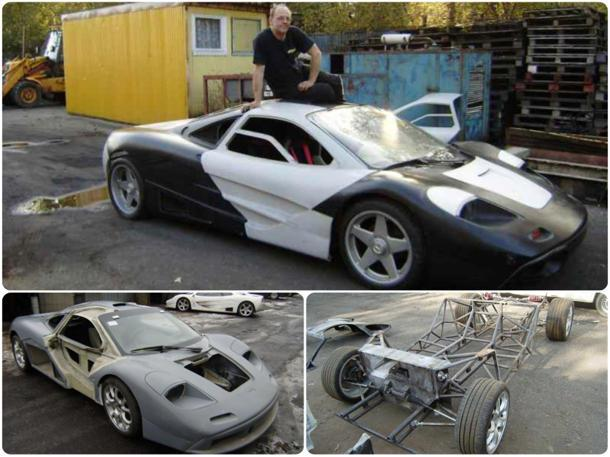 Mclaren Kit Car >> How To Make An 8 Million Mclaren F1 For Just 37 000