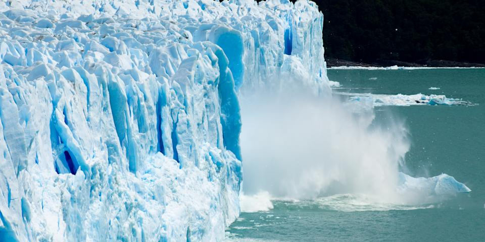 7. We can use only 1% of Earth's water for drinking purposes. About 97% of Earth's water is ocean water (or salt water) and 2% is frozen in the Arctic. More than half of the Earth's freshwater can be found in frozen glaciers; the rest is underground.