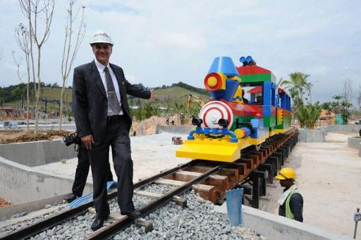 Malaysia to get Asia's first Lego hotel: The train has been built