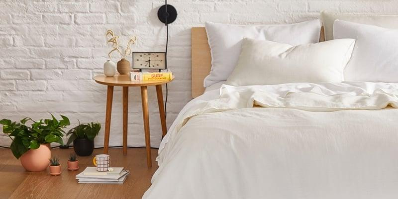 <p>For me, a good night's sleep starts with good sheets. Everyone I know loves the <span>Brooklinen Luxe Hardcore Sheet Bundle</span> ($243, originally $360), which comes with everything you need for your dream bed.</p>