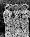 """<p>The '70s were a bold decade, and nothing proves this more than the floral dresses (with matching bolero jackets) of these happy bridesmaids. Kind of puts those """"You'll definitely wear it again!"""" dresses in the back of your closet to shame. </p>"""