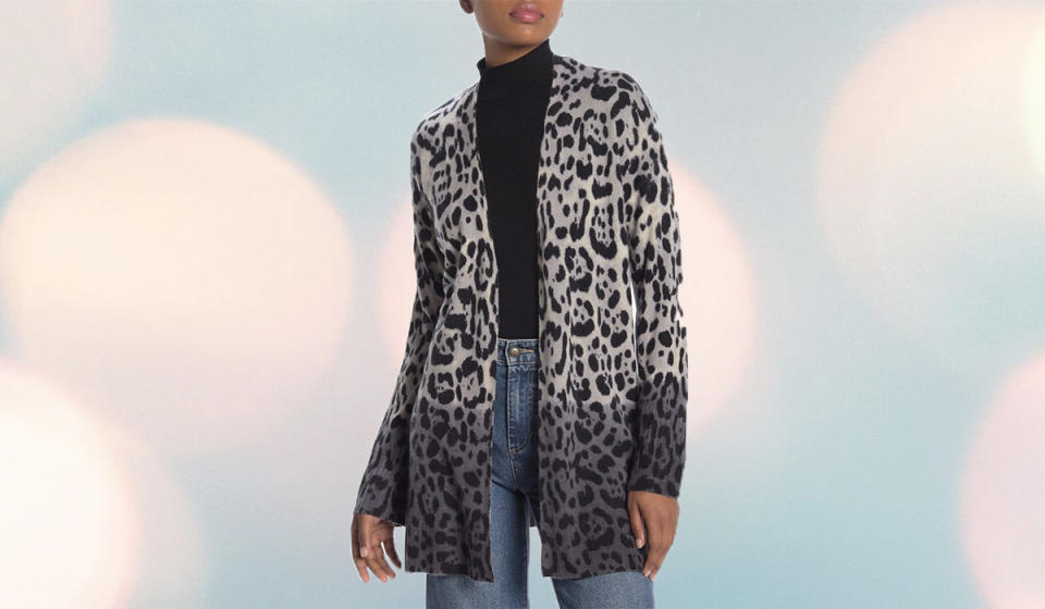 Two-tone leopard print? Sign us up. (Photo: Nordstrom Rack)