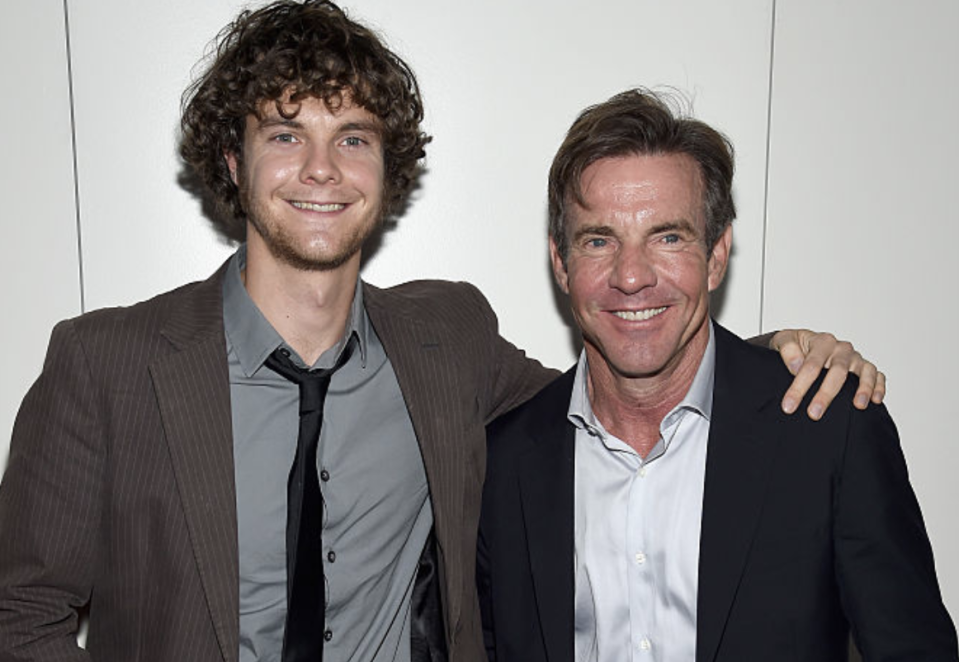 Jack and Dennis Quaid pictured in 2015. (Photo: Dimitrios Kambouris/Getty Images)