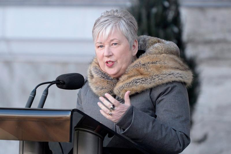 Minister of the Department of Oceans and Fisheries Bernadette Jordan at Rideau Hall in Ottawa on Jan.14, 2019. (Photo: Adrian Wyld/THE CANADIAN PRESS)