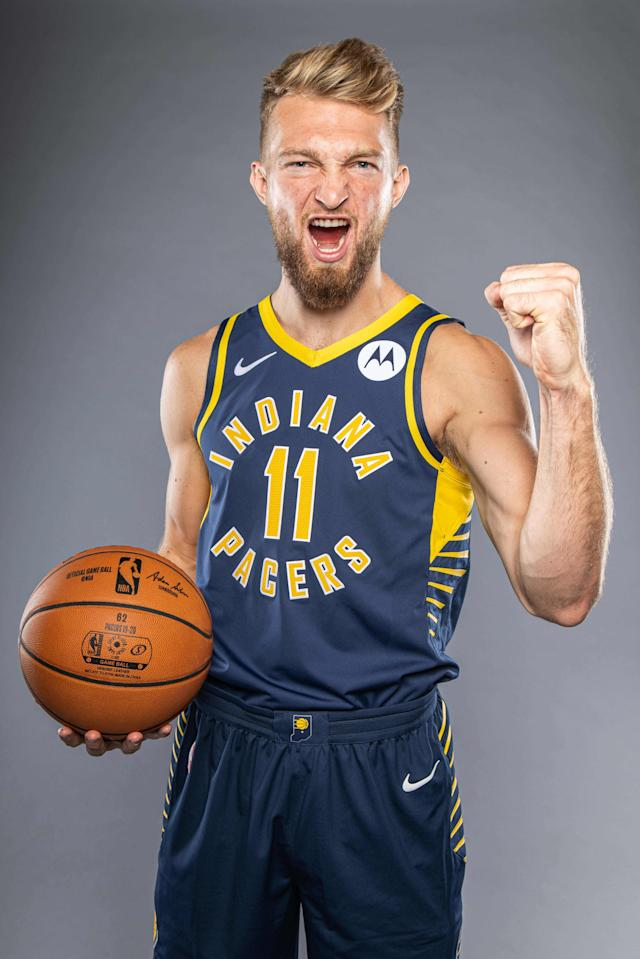 """There's Popeye's chicken sandwiches? Yes!"" — Domantas Sabonis, we can only hope"