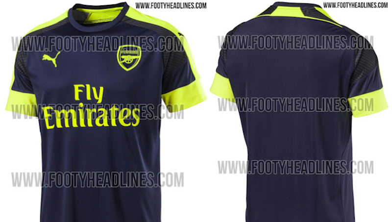 f6ee97bbf REVEALED  Arsenal s Third Kit for the 2016-17 Season Is Leaked Online