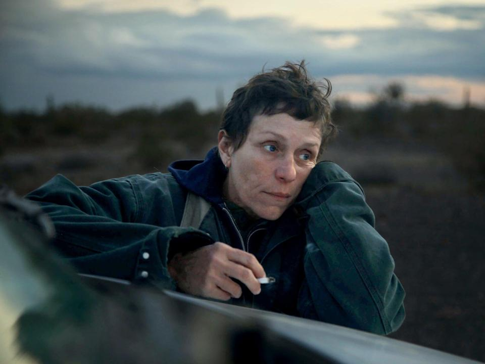 <p>Frances McDormand in Nomadland</p> (Searchlight)