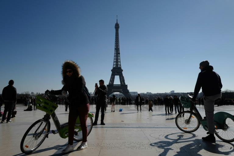 Paris first introduced its Velib' shared bike scheme in 2007 (AFP Photo/Ludovic MARIN)
